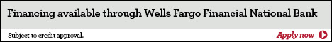 Financing available through Wells Fargo Financial National Bank Apply Now